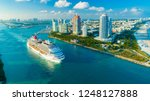 usa. florida. miami beach.... | Shutterstock . vector #1248127888