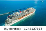 usa. florida. miami beach.... | Shutterstock . vector #1248127915