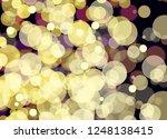 blur and bokeh  vibrant colors. ... | Shutterstock . vector #1248138415