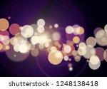 blur and bokeh  vibrant colors. ... | Shutterstock . vector #1248138418