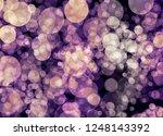 blur and bokeh  vibrant colors. ... | Shutterstock . vector #1248143392
