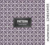 geometric pattern background.... | Shutterstock .eps vector #1248143455