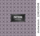 geometric pattern background.... | Shutterstock .eps vector #1248143548