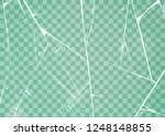 texture of ice surface.... | Shutterstock .eps vector #1248148855