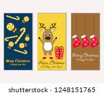 vector illustration of winter... | Shutterstock .eps vector #1248151765