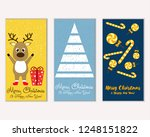 vector illustration of winter... | Shutterstock .eps vector #1248151822