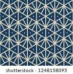 geometric triangles seamless...   Shutterstock .eps vector #1248158095