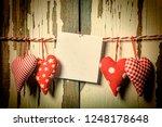 card valentine's day. valentine'... | Shutterstock . vector #1248178648