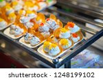 thai crispy pancake. thai... | Shutterstock . vector #1248199102