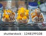 thai crispy pancake. thai... | Shutterstock . vector #1248199108