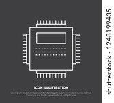 processor  hardware  computer ... | Shutterstock .eps vector #1248199435