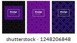 dark purple vector template for ...   Shutterstock .eps vector #1248206848