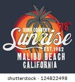summer time | Shutterstock .eps vector #124822498