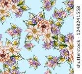 abstract elegance seamless... | Shutterstock .eps vector #1248241558