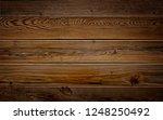dark brown reclaimed wood... | Shutterstock . vector #1248250492