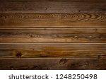 dark brown reclaimed wood... | Shutterstock . vector #1248250498