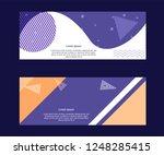 multipurpose social media kit... | Shutterstock .eps vector #1248285415