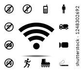 wireless lan  wi fi icon....