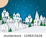 merry christmas and happy new...   Shutterstock .eps vector #1248315628