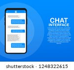 chat interface application with ...
