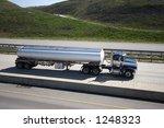 Tanker On Highway