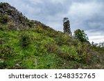 medieval castle ruin   Shutterstock . vector #1248352765
