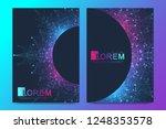 modern vector template for... | Shutterstock .eps vector #1248353578