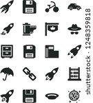solid black vector icon set  ... | Shutterstock .eps vector #1248359818