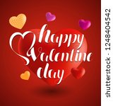 happy valentines day... | Shutterstock .eps vector #1248404542