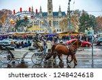 vienna  austria   december 1 ...   Shutterstock . vector #1248424618