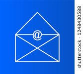 outline icon email