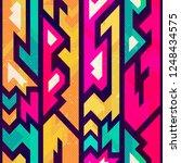 colored futurist seamless... | Shutterstock . vector #1248434575