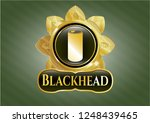 gold shiny emblem with soda... | Shutterstock .eps vector #1248439465