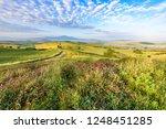 landscape scenery early in the... | Shutterstock . vector #1248451285