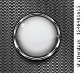 white button frame on... | Shutterstock . vector #1248481615