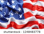 american flag as background ... | Shutterstock . vector #1248483778