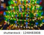 bokeh background light ... | Shutterstock . vector #1248483808
