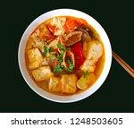 a photo of bun rieu chay  ... | Shutterstock . vector #1248503605