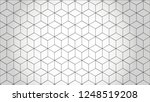 Stock vector abstract hexagon white background background can used for wallpaper or design vector 1248519208