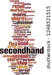 secondhand word cloud concept.... | Shutterstock .eps vector #1248521515