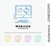 update  app  application ... | Shutterstock .eps vector #1248533395