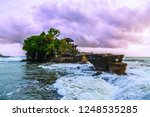 tanah lot  temple at sunset ...   Shutterstock . vector #1248535285