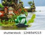 the frog statue  ulun danu...   Shutterstock . vector #1248569215