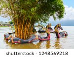 ulun danu bratan temple  bali ...   Shutterstock . vector #1248569218