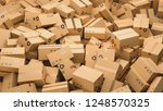 cardboard boxes  logistics and... | Shutterstock . vector #1248570325