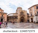 valencia  spain   august 23 ... | Shutterstock . vector #1248572575