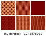 set of chinese new year... | Shutterstock .eps vector #1248575092