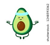 cute smiling happy strong... | Shutterstock .eps vector #1248593362