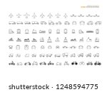 transport icon.logistic icon... | Shutterstock .eps vector #1248594775