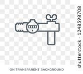 gas pipe icon. trendy flat...   Shutterstock .eps vector #1248598708